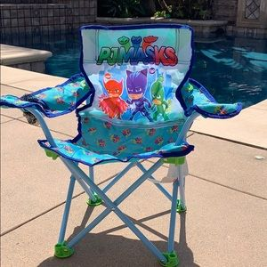Kids PJ masks portable chair
